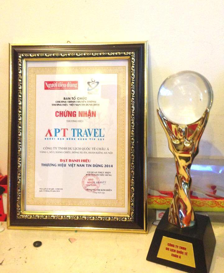 Thành tích của APT Travel