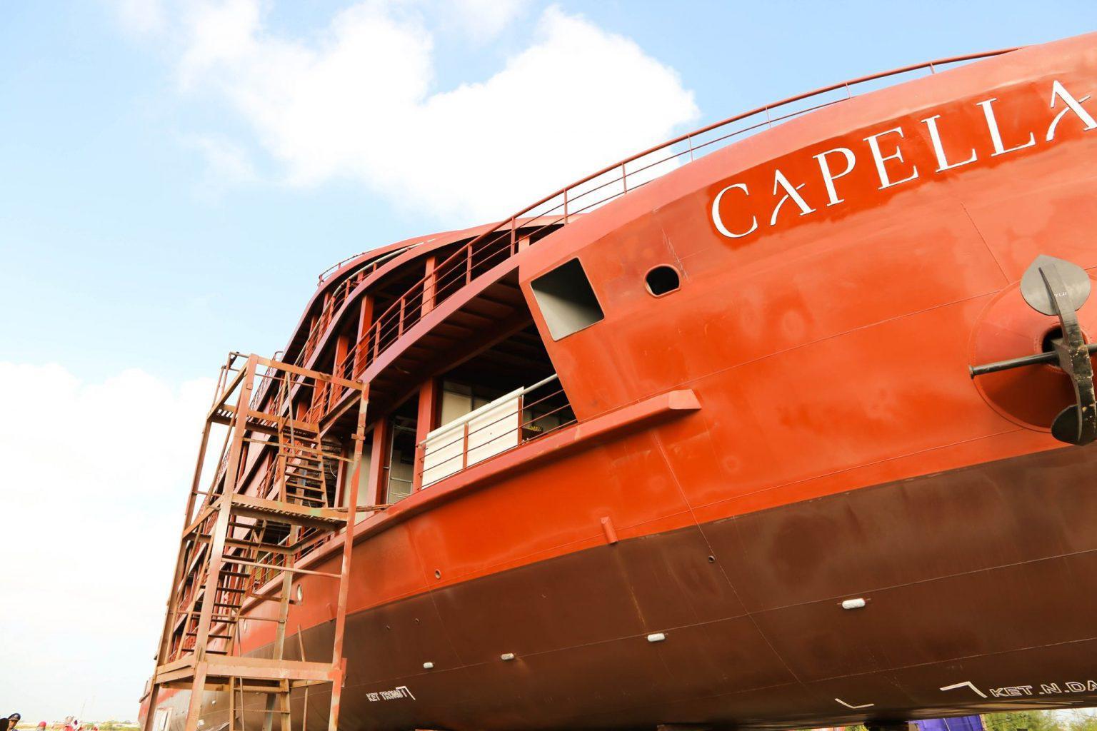 Du thuyền 5 sao Capella chính thức nhận khách vào tháng 03/2020