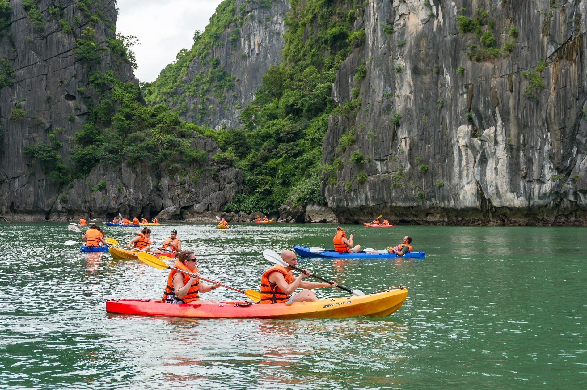 7 điểm chèo thuyền kayak ở Việt Nam