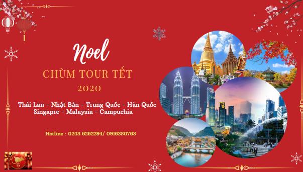 Tour du lịch chào đón Giáng Sinh và Năm mới 2020 - Tour Quốc tế